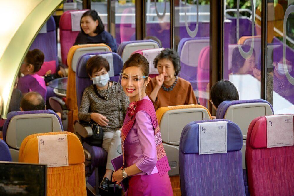 Thai Airways restaurant