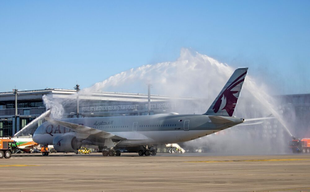 Qatar Airways, Berlin Brandenburg Airport, Southern Runway