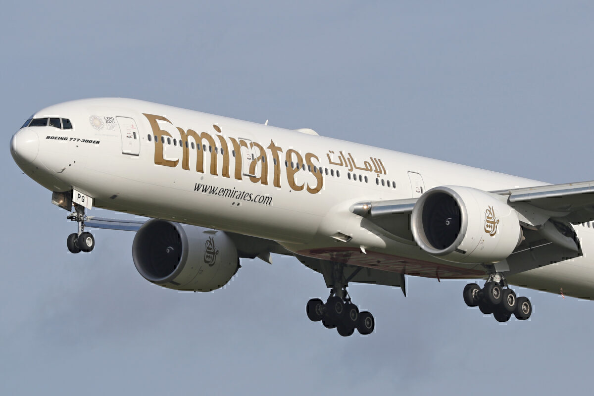 Emirates Beoing 777 Getty