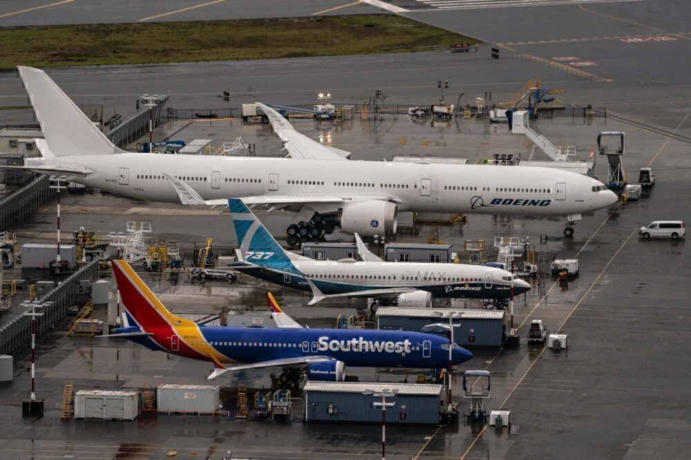 Boeing 777X & 737 MAX Seattle Getty