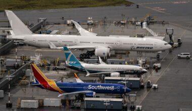 Boeing 777X & 737 MAX Seattle Getty