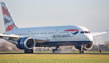 British Airways, Boeing 747, Cabin Sale