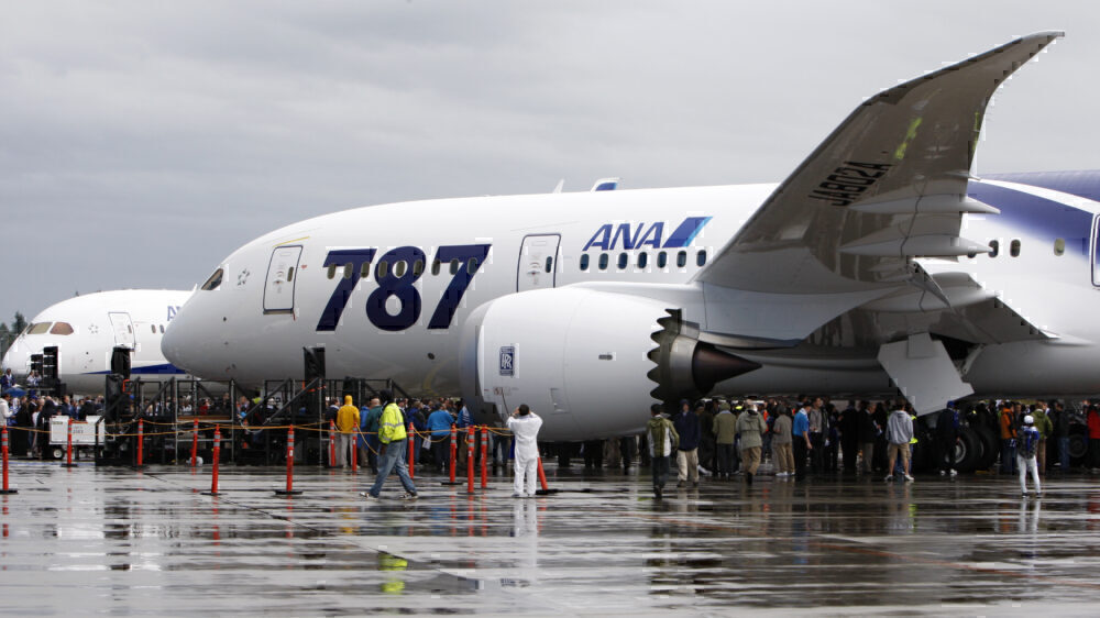 ANA 787 delivery