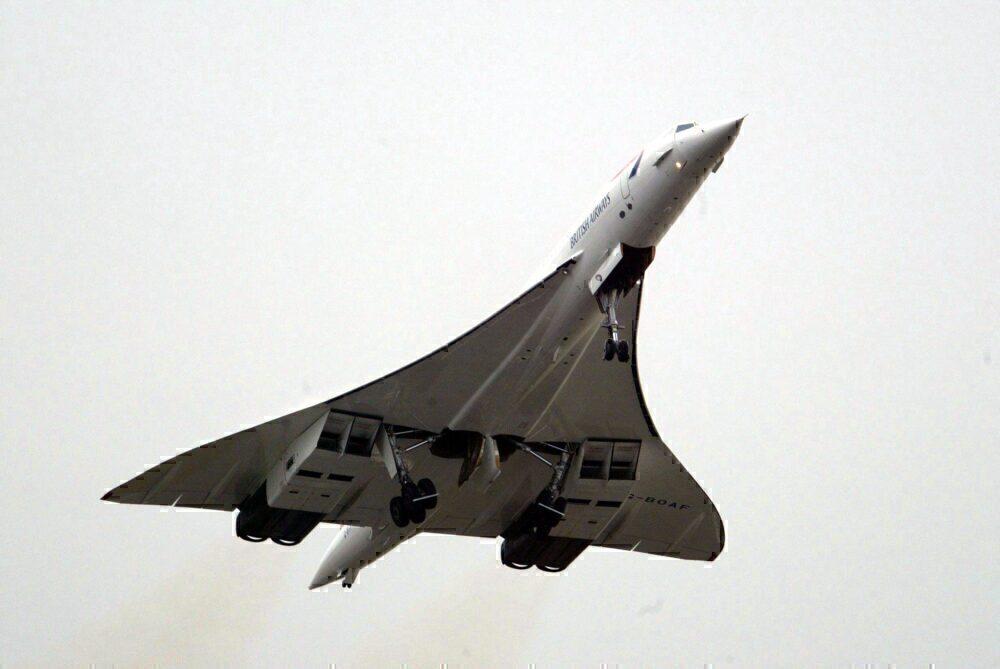 A British Airways Concorde