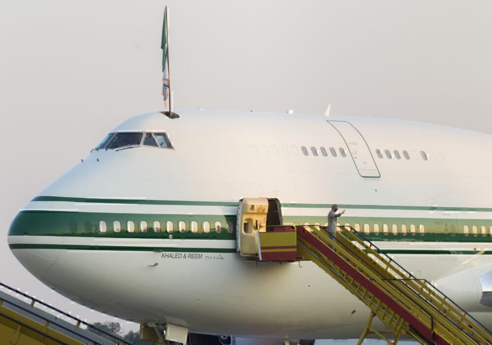 Prince Al Waleed's 747