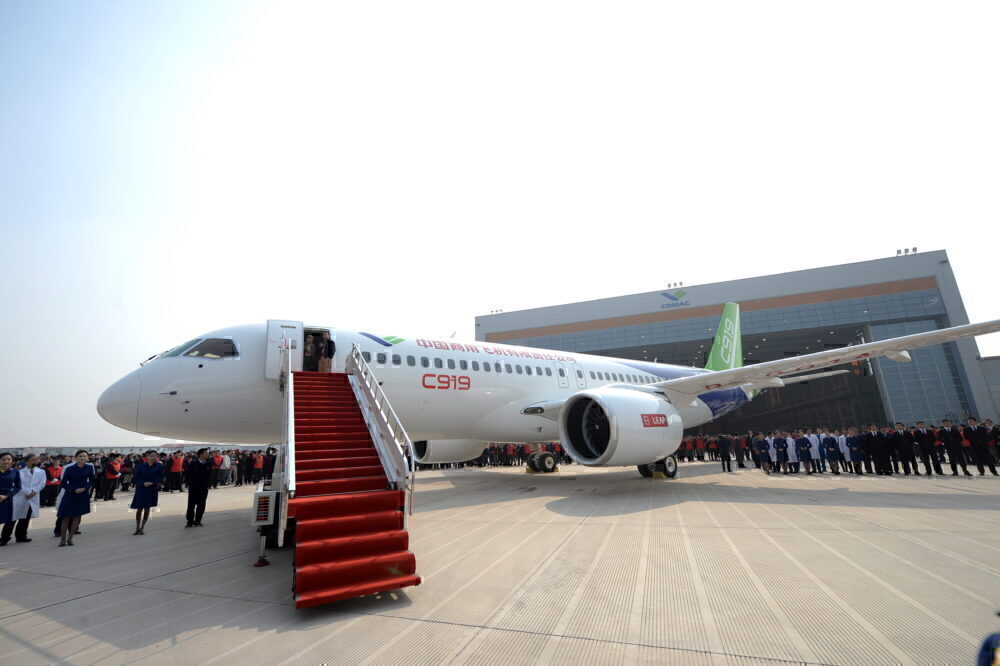 COMAC C919, Certification, China