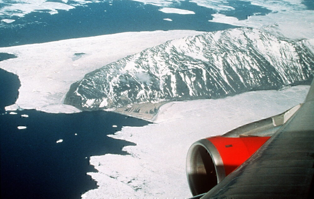 Qantas, South Pole, Sight Seeing