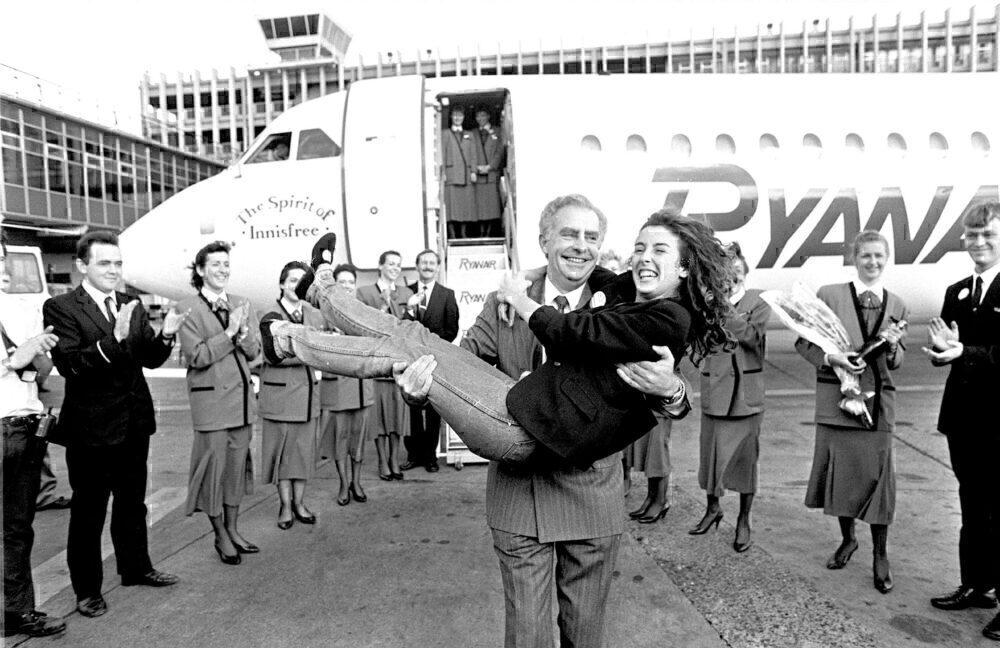 Ryanair's One Millionth Passenger