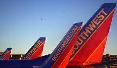 Southwest Airlines 737 Classic 1977