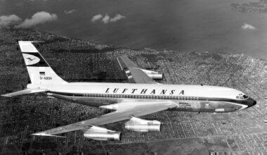 Lufthansa Boeing 720 Getty