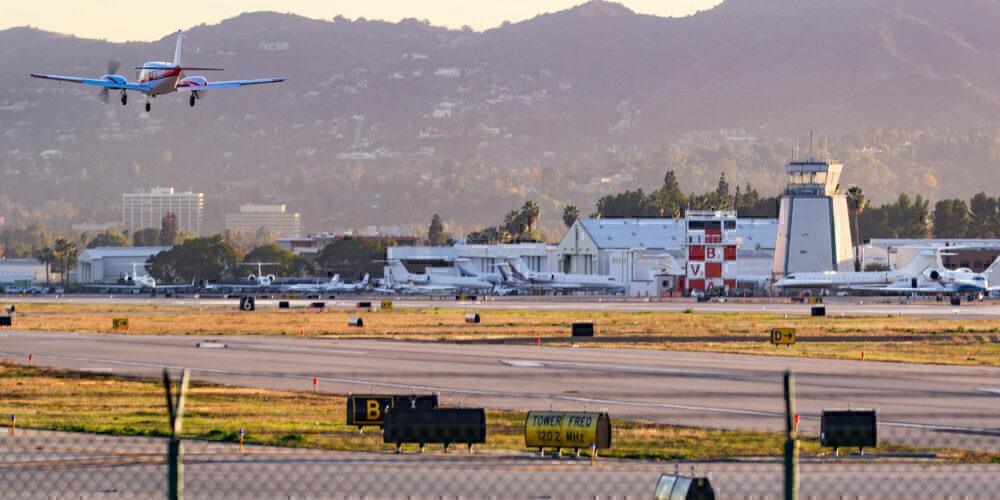 Van Nuys Airport Getty