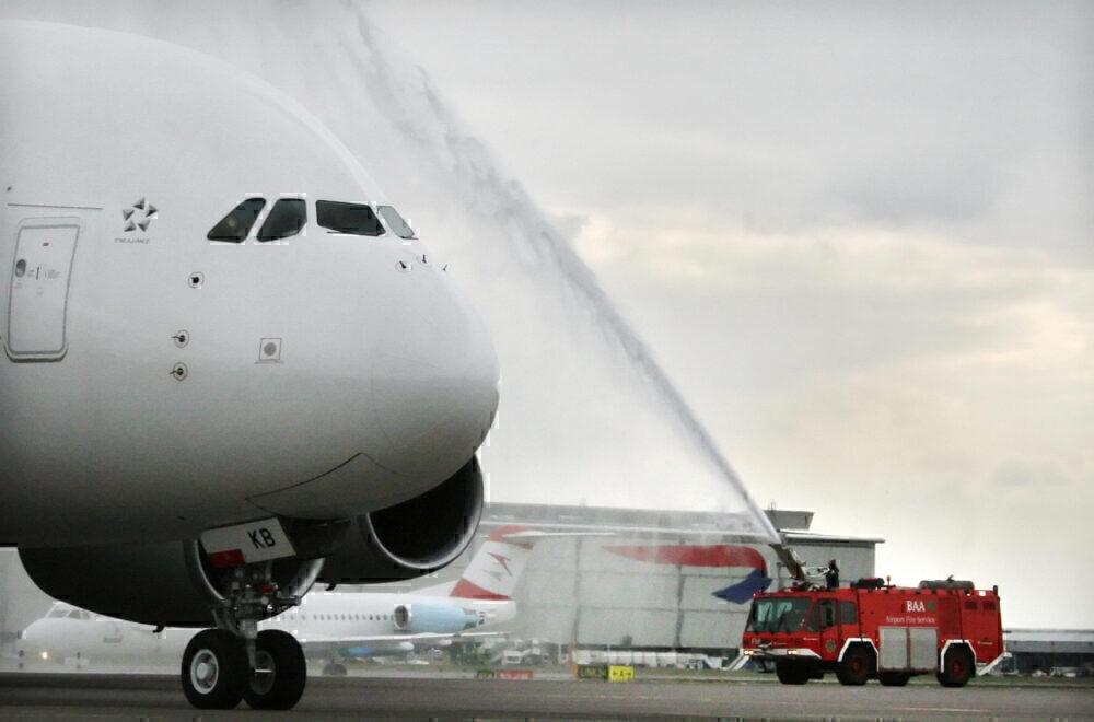 London Heathrow, Airbus A380, Perfect Aircrfat