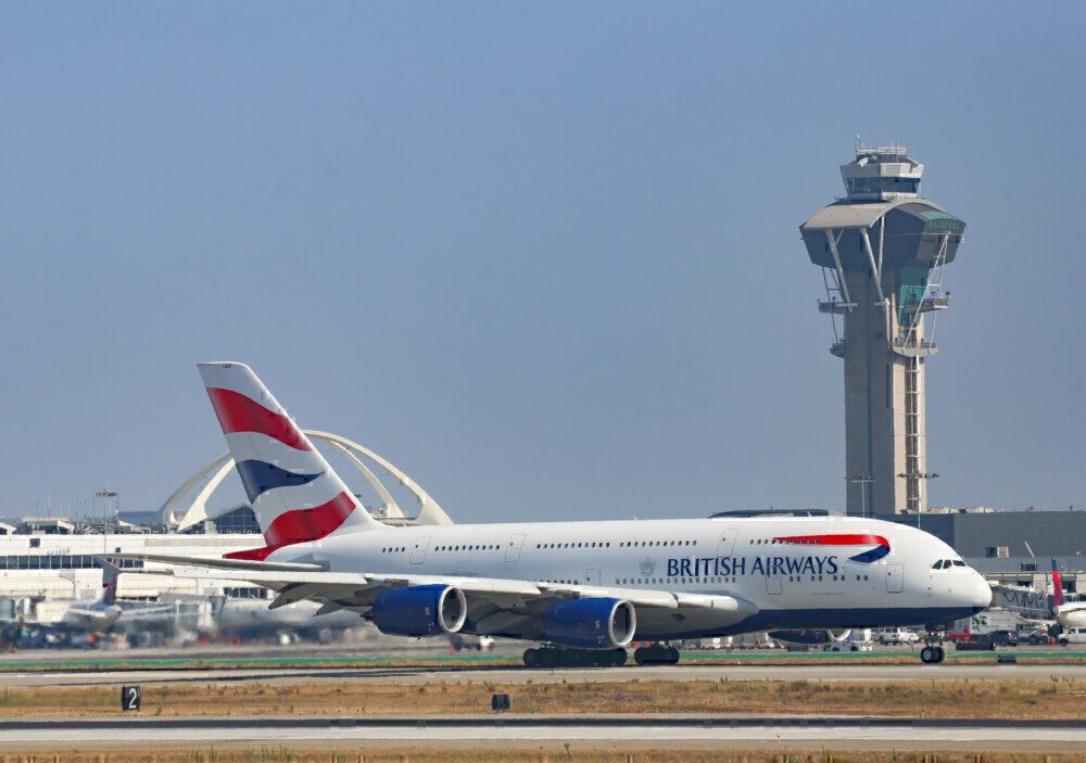 British Airways A380 Getty