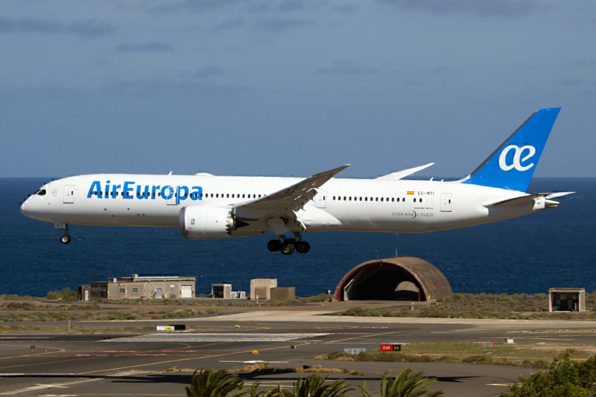 Air Europa 787-9 Getty