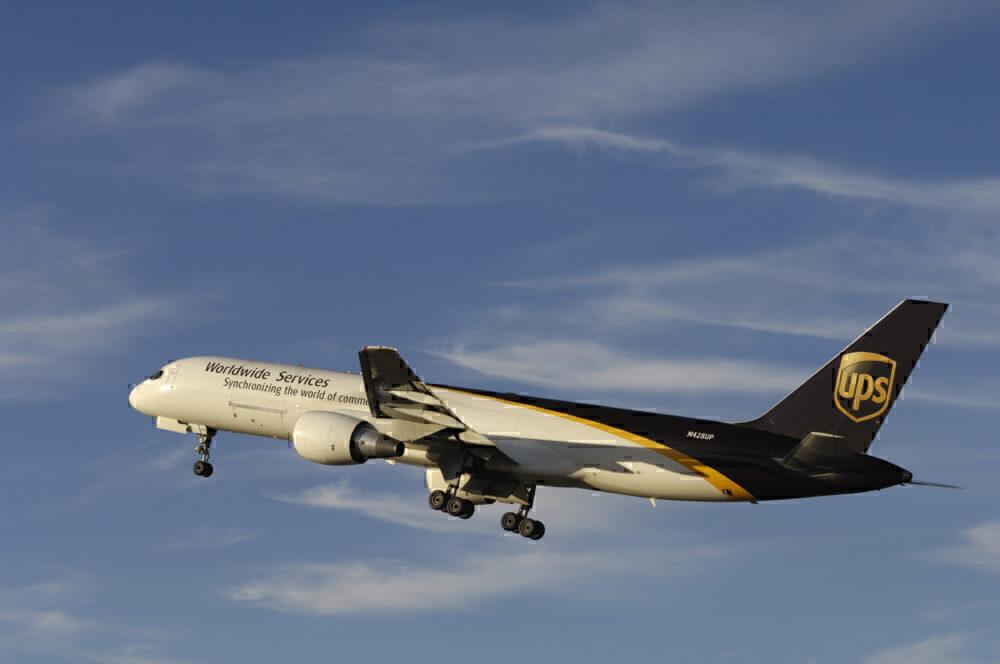 UPS 757 Takeoff