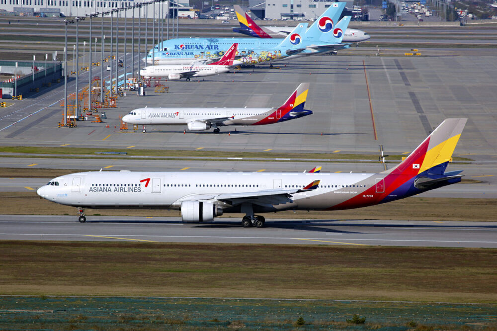 Asiana Korean Air