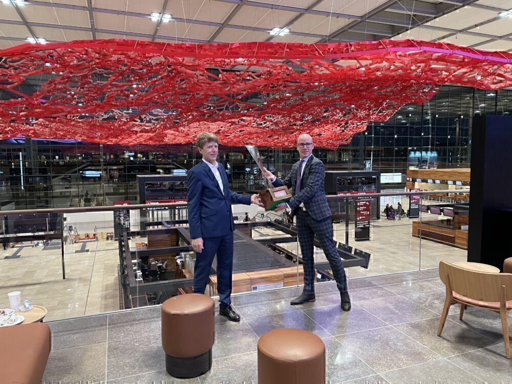 Berlin Brandenburg Airport, easyJet, first Departure