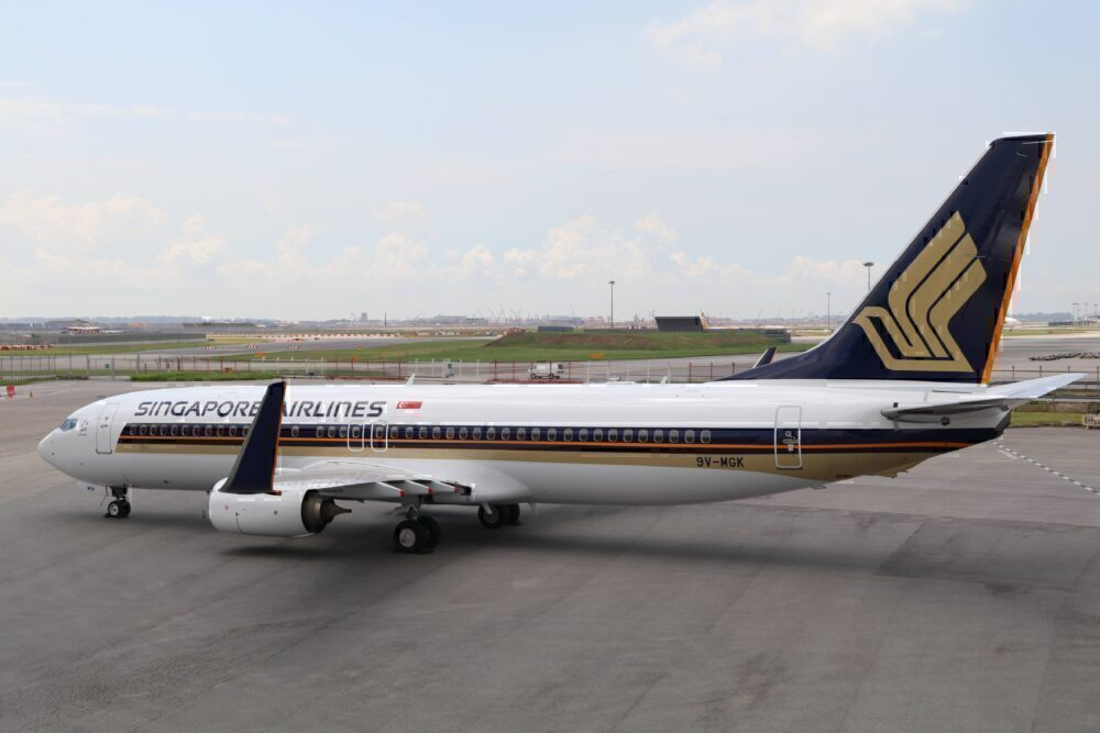SIngapore Airlines 737-800