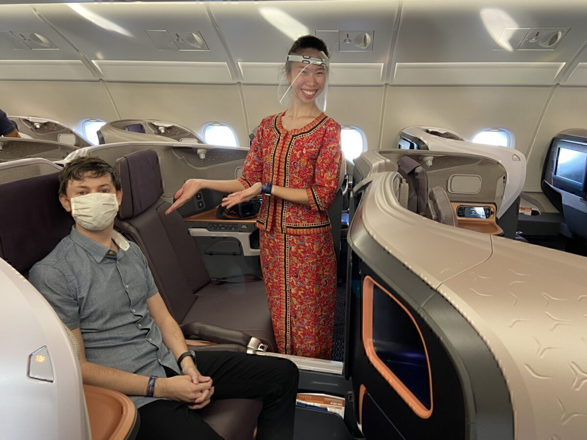 Review: Singapore Airlines' Incredible A380 Restaurant In Business Class