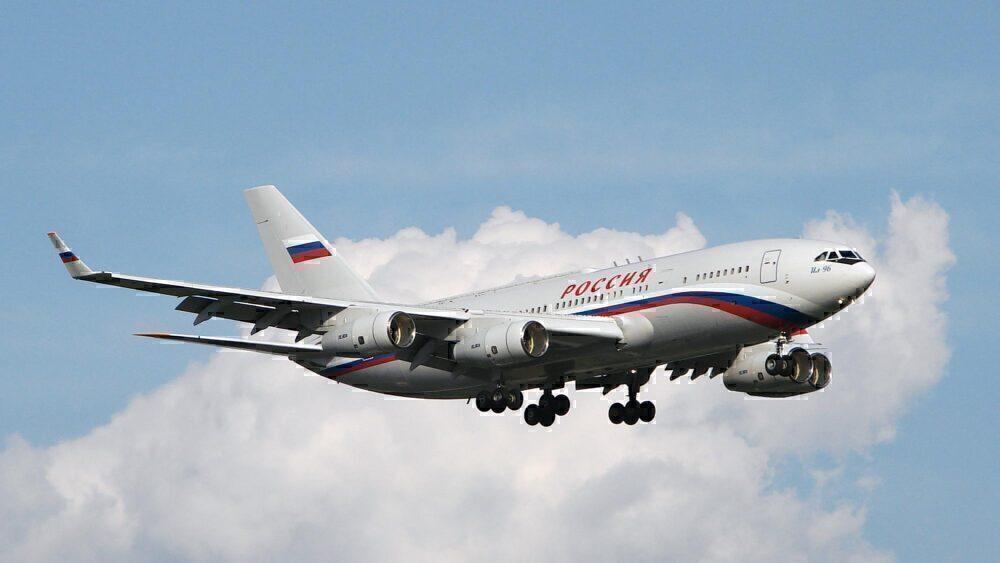 Russia's VIP Il-96