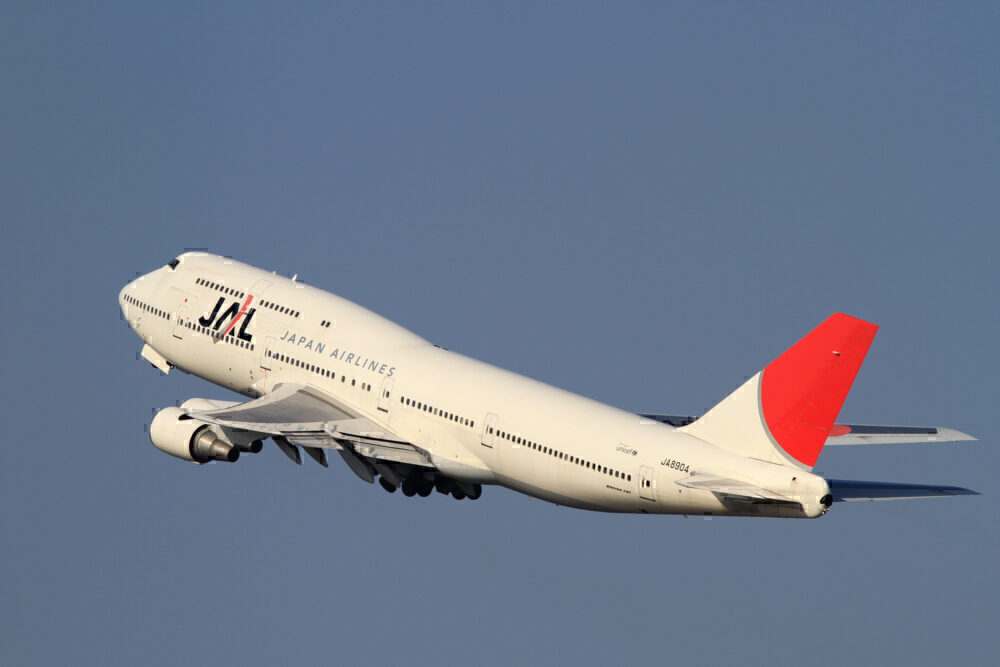 JAL 747-400D