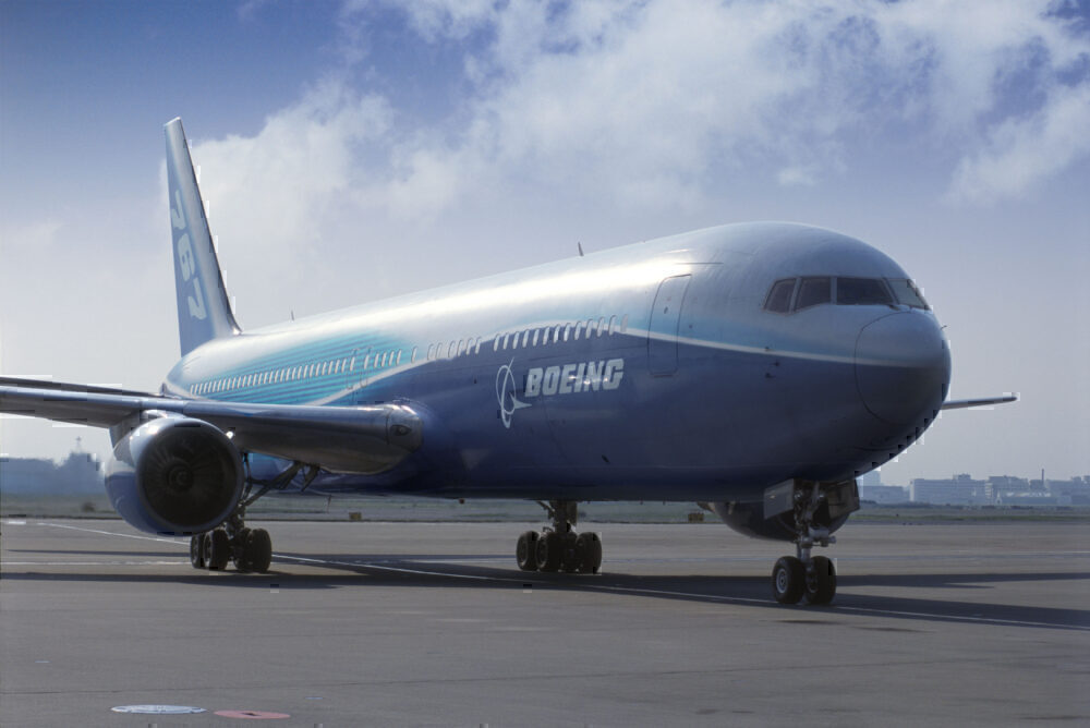 767 in Boeing Livery