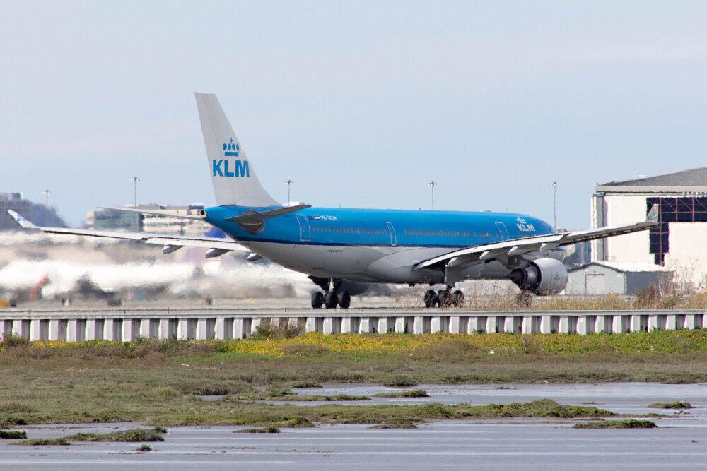 KLM a330 747 collision