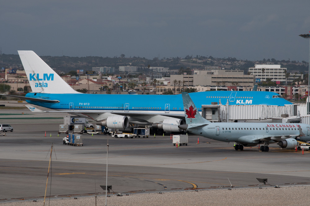 klm asia boeing 747