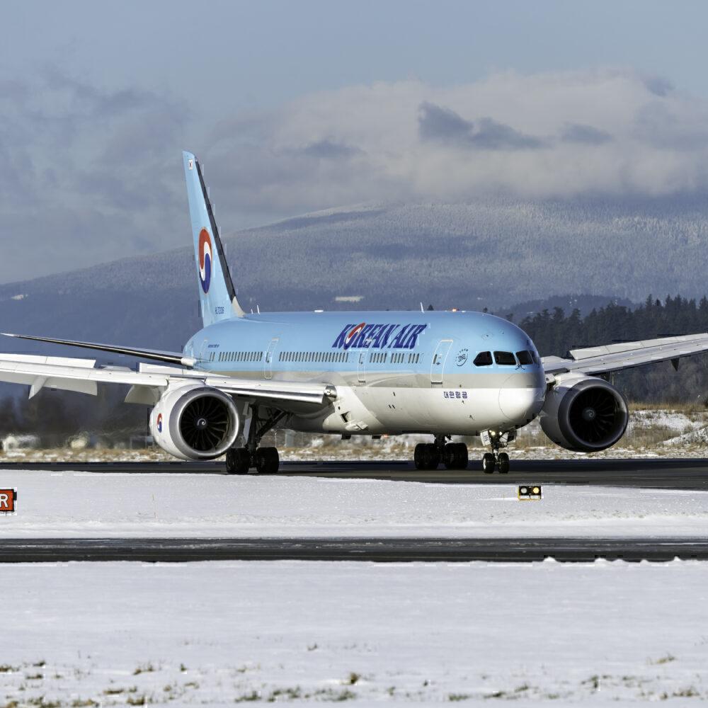 Korean Air Boeing 787-9 Dreamliner HL7206