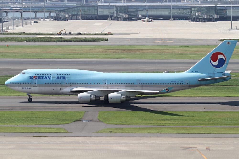 Korean Air 747-400