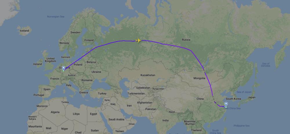 Lufthansa Cargo, Carbon Neutral Flight, Shanghai