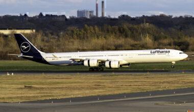 Lufthansa Airbus A340-642 D-AIHE