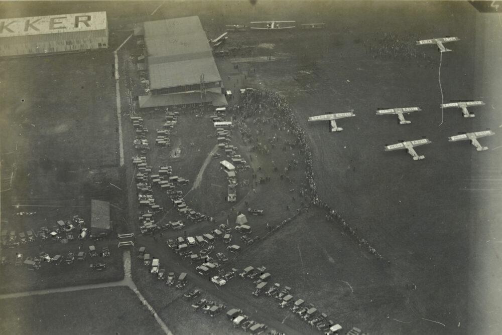 Schiphol in 1920s