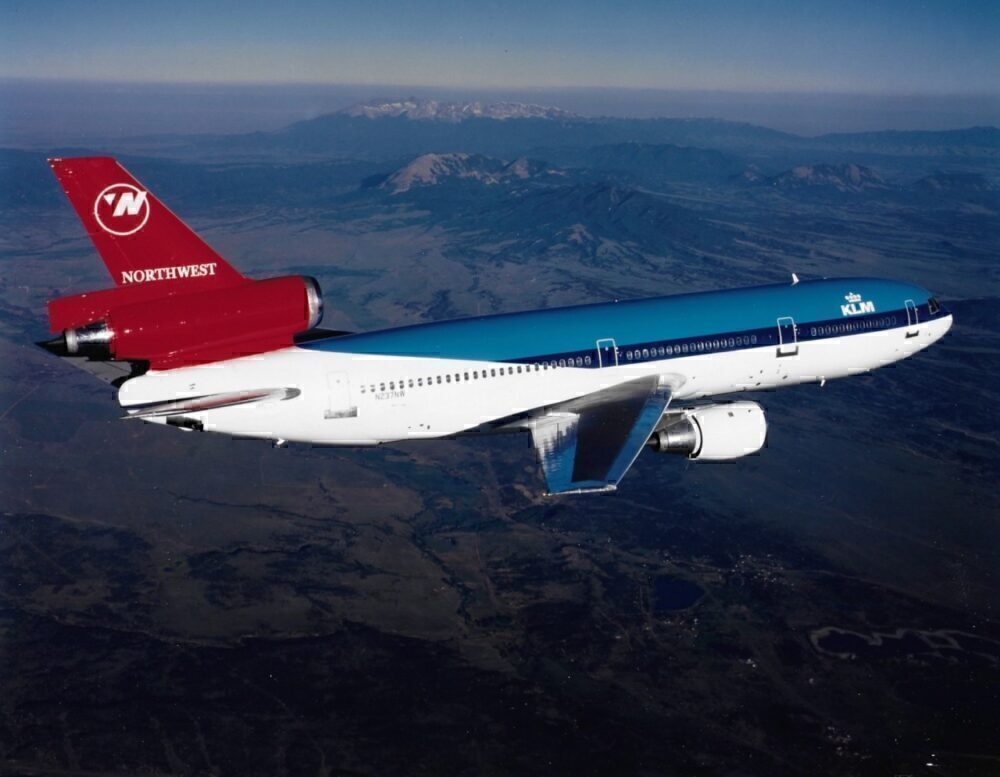 Why On Earth Was A Northwest DC-10 Painted In A Part KLM Livery?