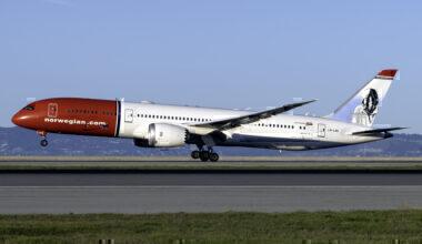 Norwegian (Roald Dahl Livery) Boeing 787-9 Dreamliner LN-LNO