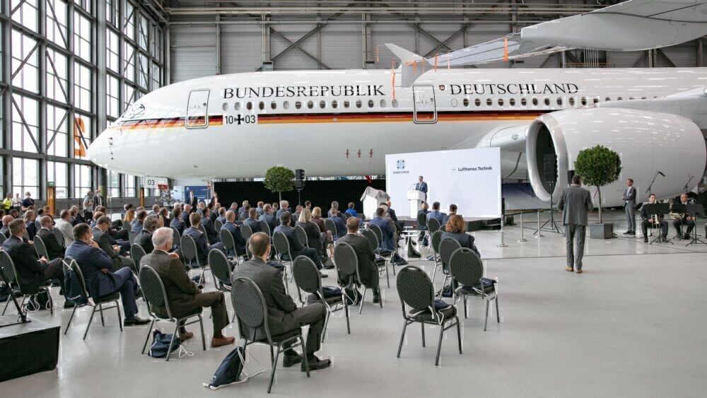 A350 handover German government