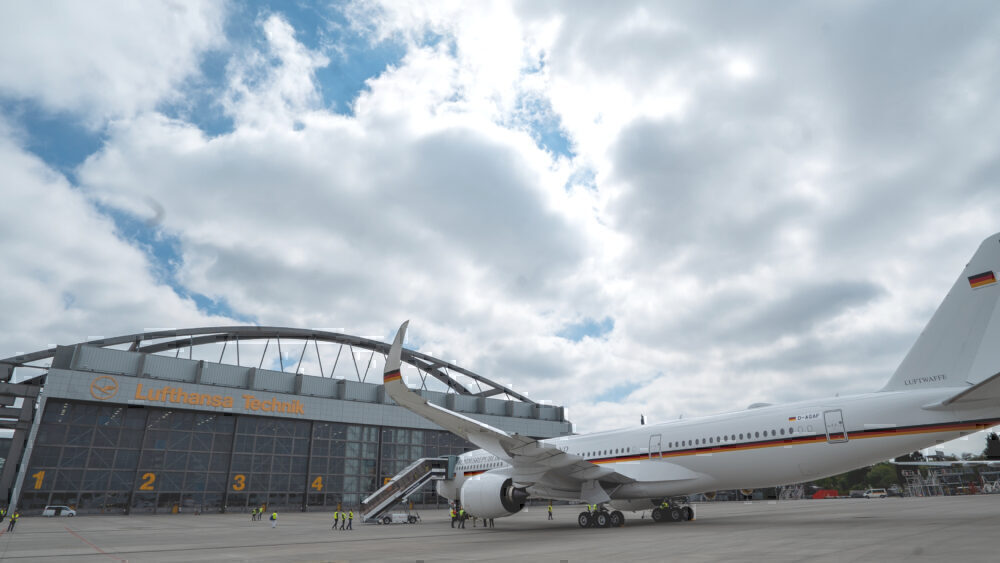Airbus A350, German Air Force, Merkel One