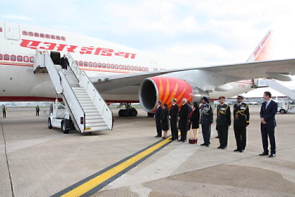 Modi Air India One 747