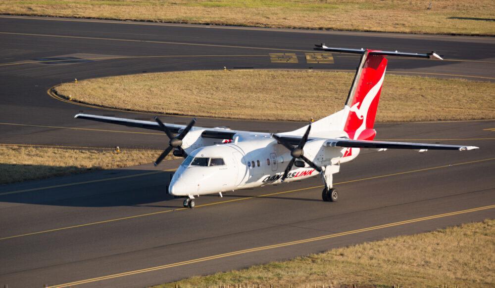 Qantas Dash 8