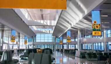 United Airlines new Gates Denver