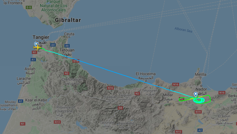 Air Arabia Maroc flight
