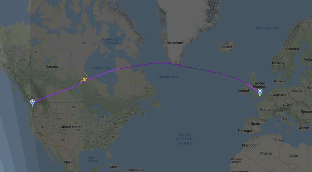 British Airways, Boeing 777, Delivery