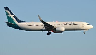 Singapore Airlines 737