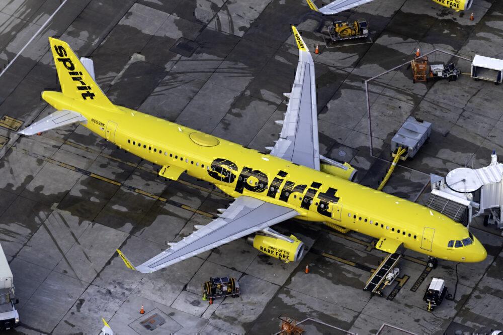 Spirit Airlines Airbus A321-231 N659NK