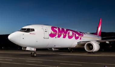 Swoop aircraft