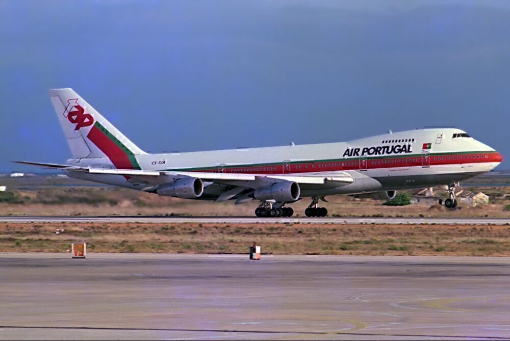 TAP Air Portugal 747