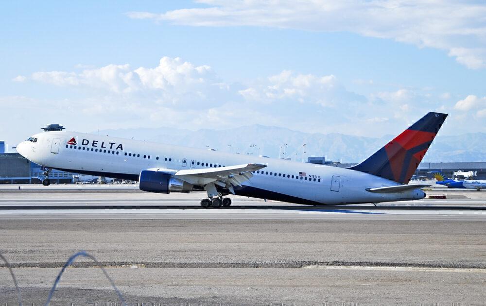 Delta 767 tail strike