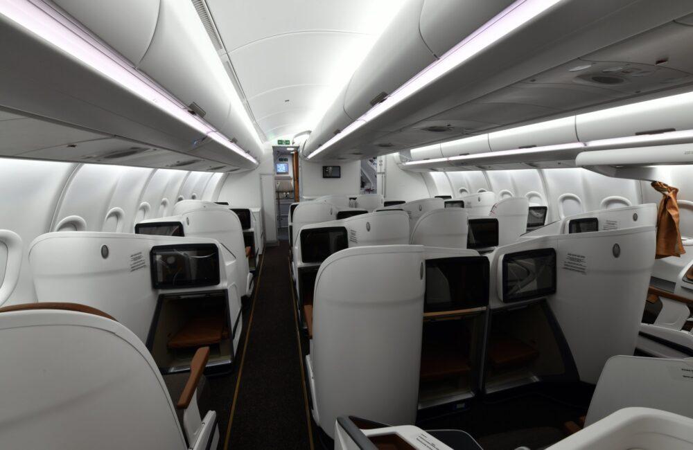 Uganda A330-800 business class