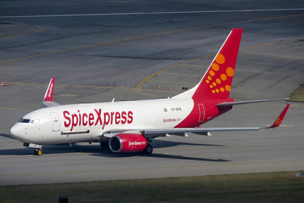 SpiceXpress 737 SpiceJet
