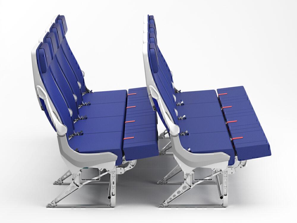 Lufthansa, Long Haul, Economy Bed